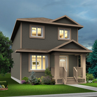 Arc Elevation - Standard Home Elevation