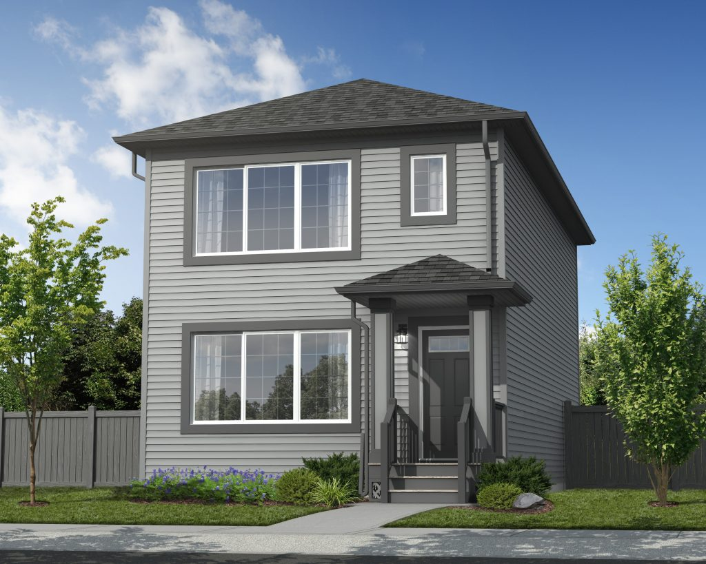 Roma Elevation - Standard Home Exterior