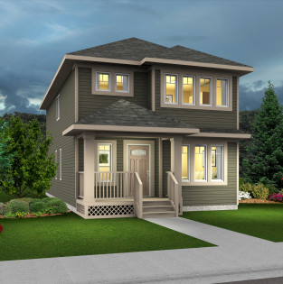 Caesar Standard Elevation - Impact Homes