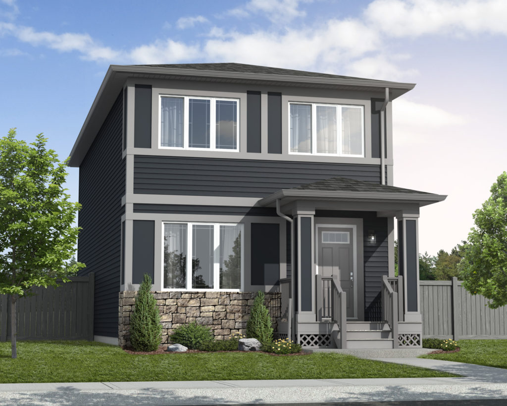 Trireme Elevation - Prairie Home Exterior