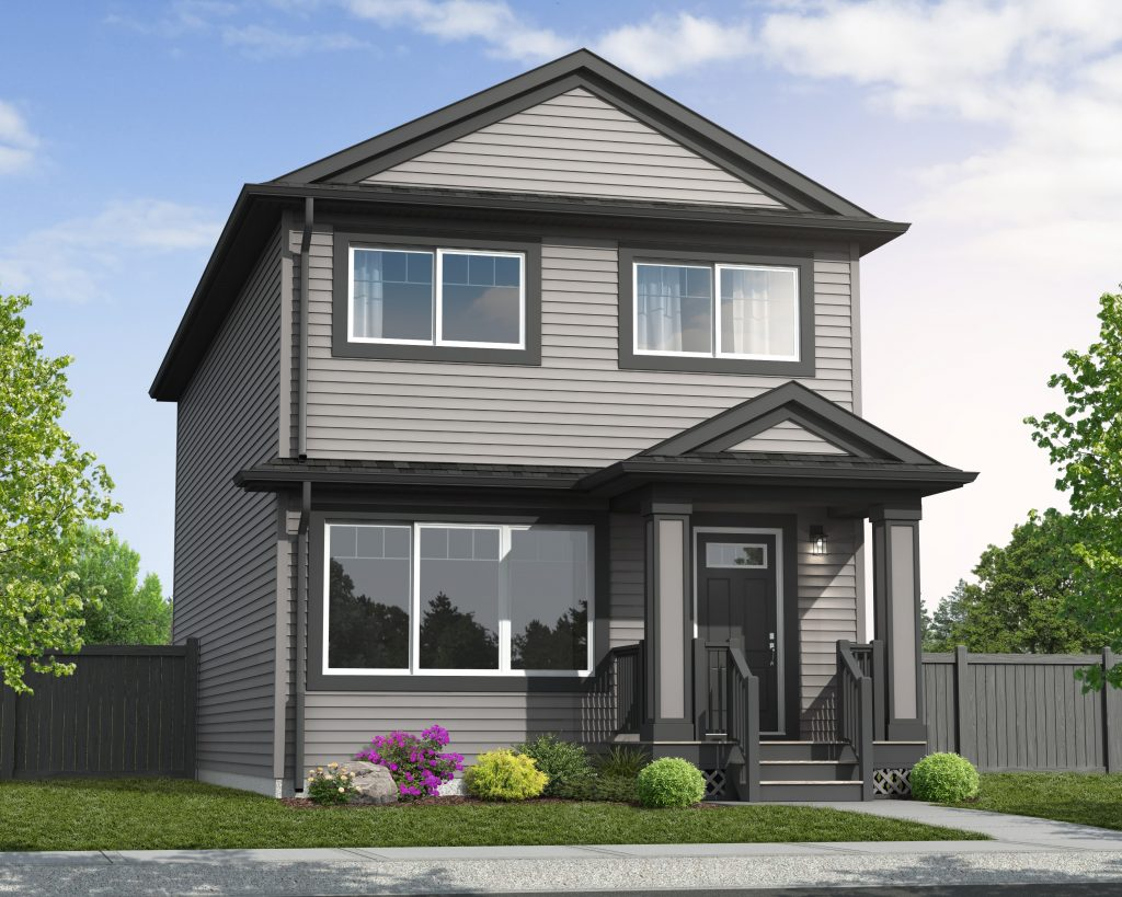 Trireme Elevation - Standard Home Exterior