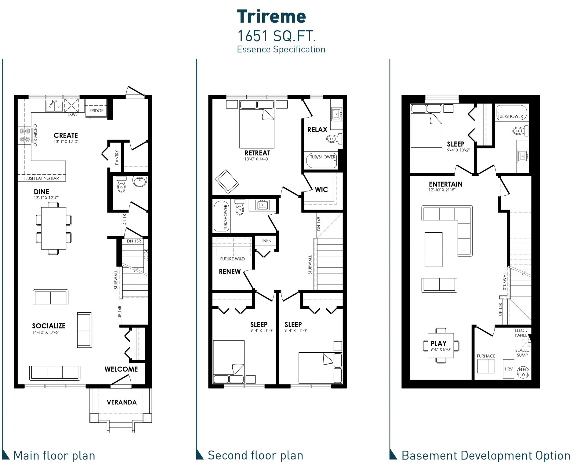 34067 Trireme – SOLD essence blacklines image
